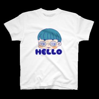 ミドリ ハナ@maro_coのマロ眉坊 T-shirts