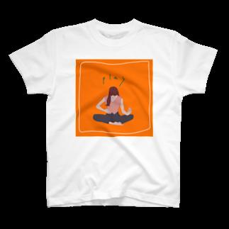 うまみのエアギター T-shirts