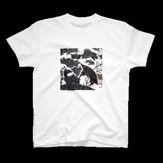 🔥Ryuu🔥絵描き師🔥依頼はDMください😄の猪鹿蝶 T-shirts