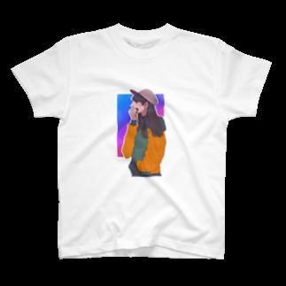 うまみのカジュアル女 T-shirts