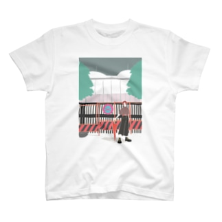 立ち入り禁止お兄さん T-shirts