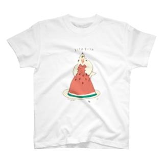 スイカでBITABITA T-shirts