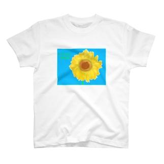 タワシひまわり T-shirts