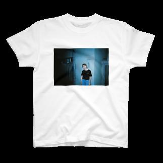 石川ののくちてやん 青 T-shirts