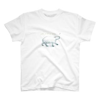 歌うカピバラ T-shirts