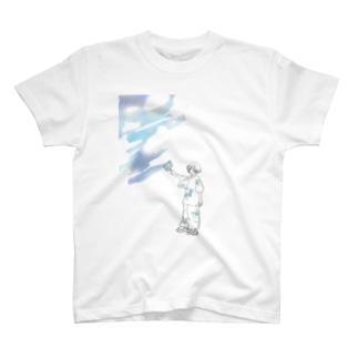 夏を塗る T-shirts