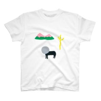 三好愛の景色を忘れたTシャツ T-shirts