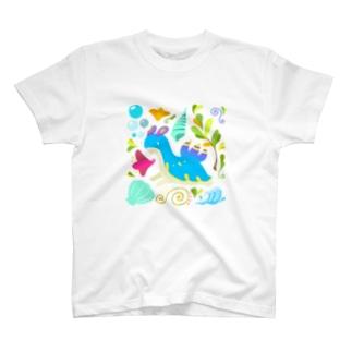 ウミウシドラゴン T-shirts