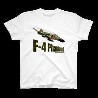kazu Aviation ArtのF-4 ファントム II T-shirts