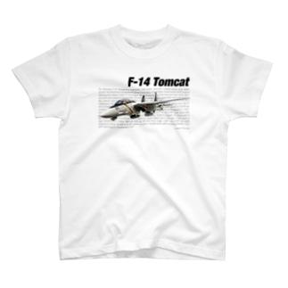 kazu Aviation ArtのF-14 トムキャット T-shirts