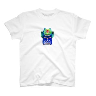 猫神様NEO T-shirts