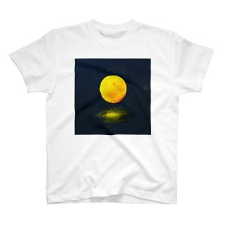 ウラベ家の月 T-shirts