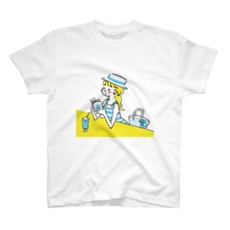 読書とソーダー水 T-shirts