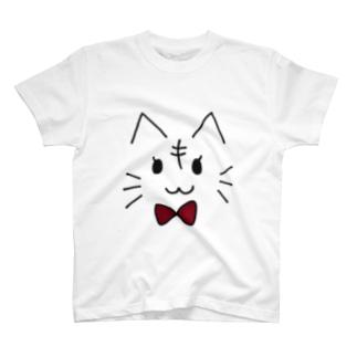 リボンねこ T-shirts