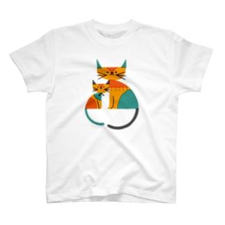 ネコ(2) T-shirts