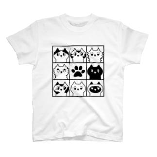 8にゃんズ T-shirts