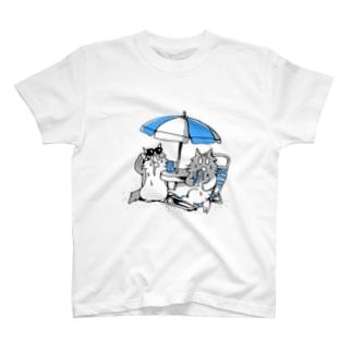 よだれねこの夏2019 T-shirts