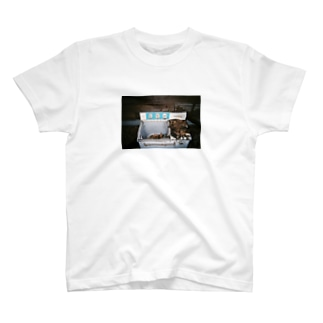 廃墟洗濯機/ウォッシングマシーン T-shirts