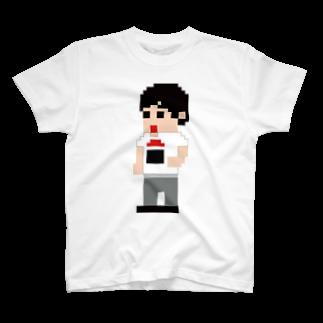 maeda-design-roomの【ウラサン団】室長 Tシャツ T-shirts