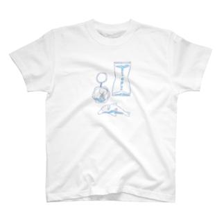 海に行ったつもり T-shirts