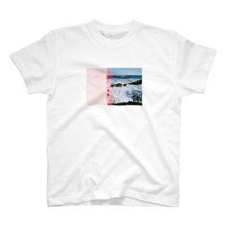 LIGHT FILM SEA T-shirts