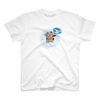 IO-DESIGNのお姫様シリーズ[理想と現実の間] T-shirts