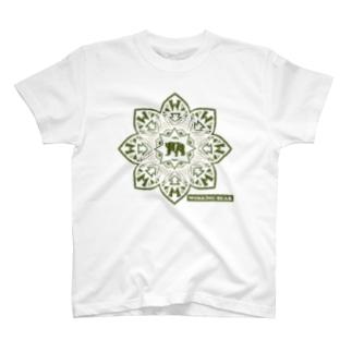 【WORKING BEAR】Bear Blossom アリゲーター T-Shirt