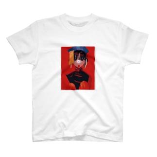 チャイナッコ T-shirts