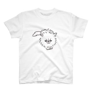 スコティッシュフォールド猫 T-shirts