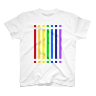 color bar - rainbow - T-shirts
