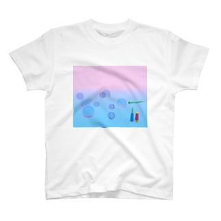 しゃぼん玉 T-shirts