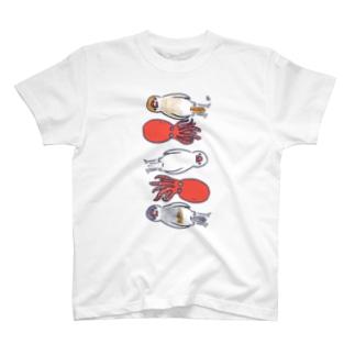 多幸文鳥 T-shirts