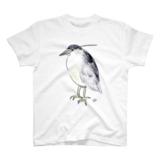 五位鷺 T-shirts