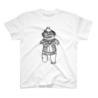 土偶Black Ver T-shirts