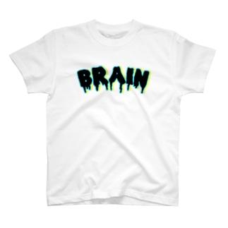 ムノウ ブレイン ロゴT T-shirts