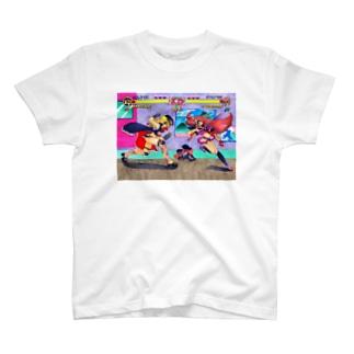 ときめきスクールファイター T-shirts