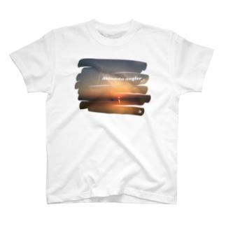 蒲刈の朝日 T-shirts