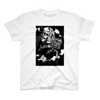 鬼女と蝋燭 T-shirts