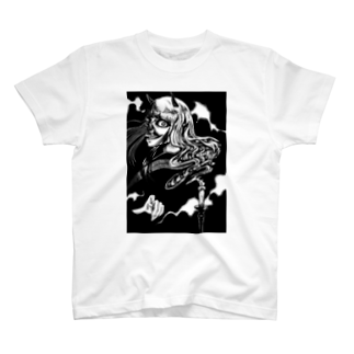 あかいろちゃんねるの鬼女と蝋燭 T-shirts