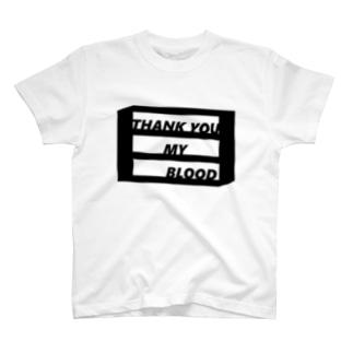 オル棚Teeブラック T-shirts