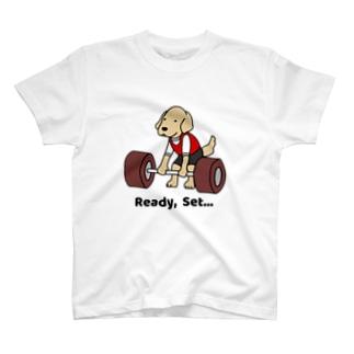 重量挙げ(両面) T-shirts
