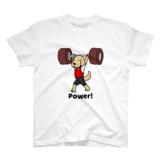 重量挙げ2(前面) T-shirts