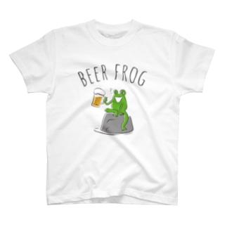 ビアガエル T-shirts