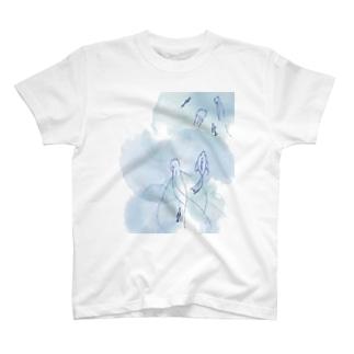 アップお魚さん T-shirts
