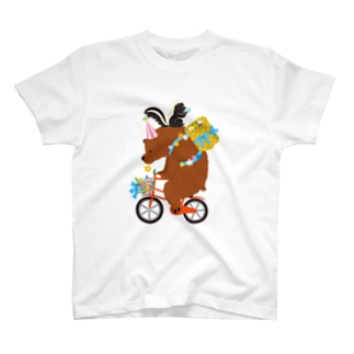 くまサーカス T-shirts
