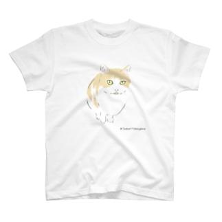おすまし大吉くん(ホワイト) T-shirts