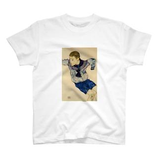 エゴン・シーレ / 1913 / Boy in a Sailor Suit / Egon Schiele T-shirts