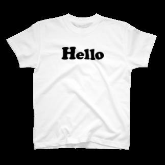 PloughのHello T-shirts