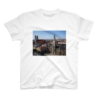 ミュンヘン マリエン広場 T-shirts