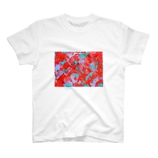 縁日の金魚Tシャツ T-shirts